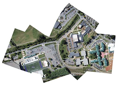 WCU map